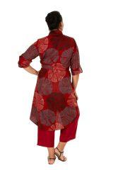 Robe ou tunique ethnique et colorée en grande taille Lydia 309797