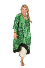 Robe ou Tunique originale grande taille à manches 3/4 Ethna 309784