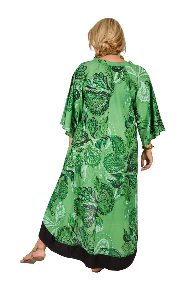 Robe ou Tunique originale grande taille à manches 3/4 Ethna 309785