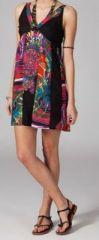 Robe pas chère colorée Arina 269794