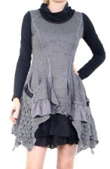 Robe patchwork boho gypsy originale Melissa Grise 302885