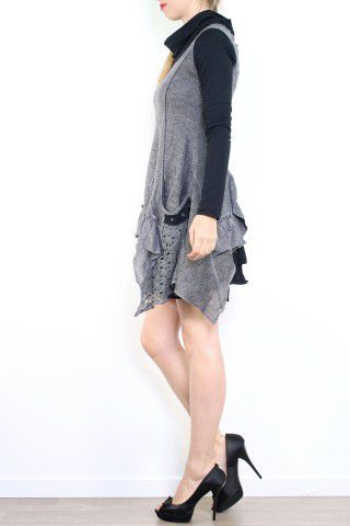 Robe patchwork boho gypsy originale Melissa Grise 302887
