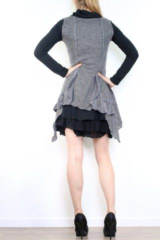 Robe patchwork boho gypsy originale Melissa Grise 302888