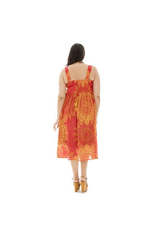 Robe plissée à la poitrine et smockée dans le dos Wickham 312976