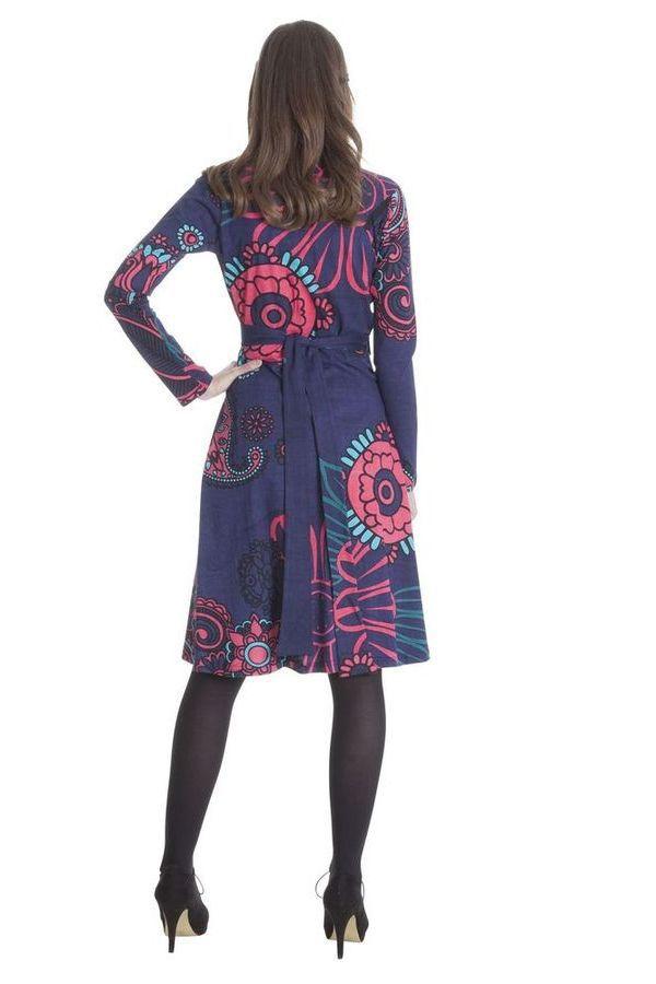 Robe Portefeuille Ethnique aux Imprimés Paisleys Lumen 285486