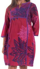 Robe pour Enfant Fushia type Orientale et Colorée Yasmine 280645
