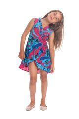 Robe pour Enfant Sarabi Colorée et Portefeuille Rose et Bleue 280196