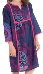 Robe pour Enfant type Orientale et Colorée Yasmine Violette 280643