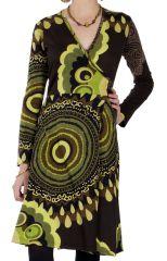 Robe pour Femme aux Imprimés Colorés et Ethniques Miray 287393