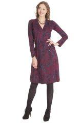 Robe pour Femme coupe Portefeuille Ethnique Molly 285475