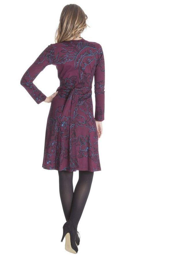 Robe pour Femme coupe Portefeuille Ethnique Molly 285476