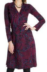 Robe pour Femme coupe Portefeuille Ethnique Molly 287368