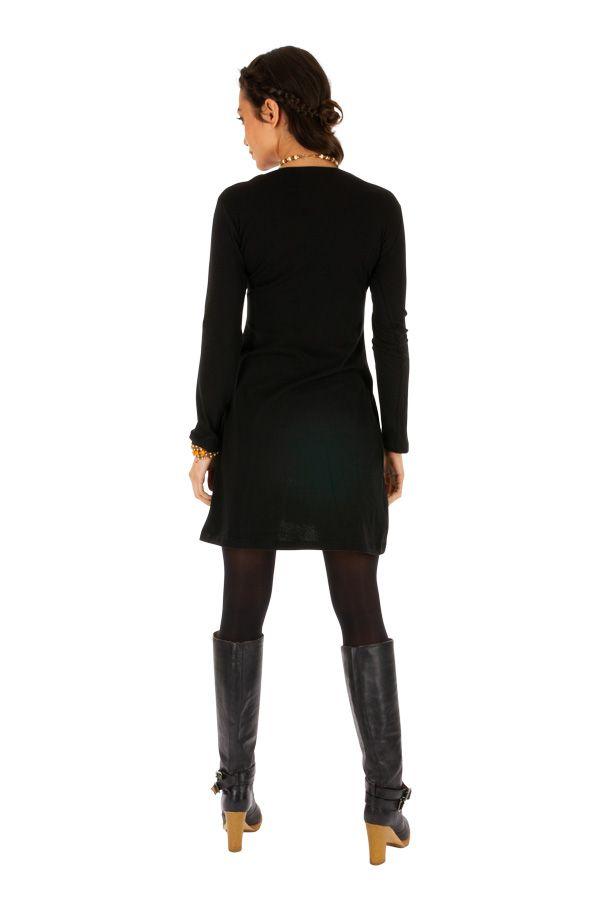 Robe pour femme ethnique et fashion avec broderies Salsa 313855