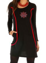 Robe pour femme ethnique et joliment décorée Mounana 312698
