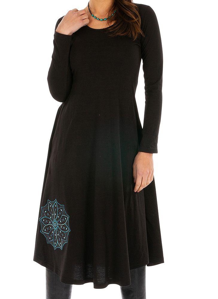 Robe pour femme mi-longue chic et originale Yaloké 313874