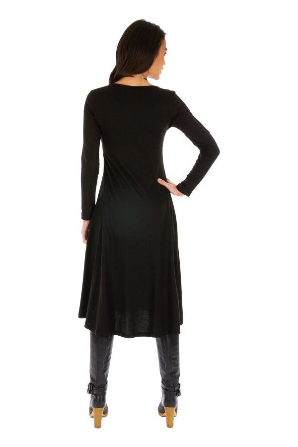 Robe pour femme mi-longue chic et originale Yaloké 313876