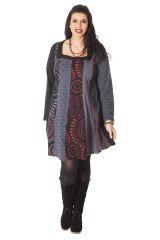 Robe pour femme pulpeuse Ethnique et Colorée  Parker 286113
