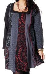 Robe pour femme pulpeuse Ethnique et Colorée  Parker 286974