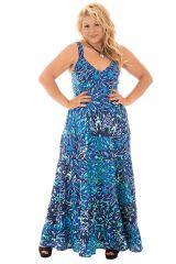 Robe pour femme Size+ Agréable et Glamour Vincenta Bleue claire 293935