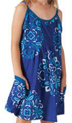 Robe pour fille à fines bretelles Originale et Ethnique Estia 280217