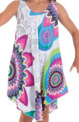 Robe pour fille de Plage et Colorée Penny Blanche et Flashy 280146