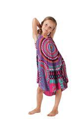 Robe pour fille de Plage et Colorée Penny Rose à Mandalas 280204