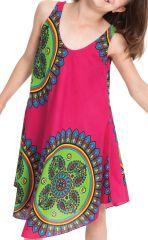Robe pour fille Rose Flashy de Plage et Colorée Penny 280150