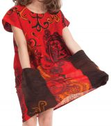 Robe pour Fille Rouge Originale et Pas chère Larry 280134