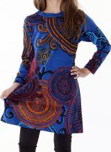 Robe pour fillette imprimée et originale pour l'hiver 287329