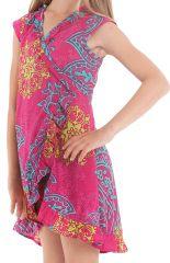 Robe Rose pour Enfant Sarabi Colorée et Portefeuille 280189