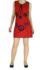 Robe rouge avec spirales Wanna 268541