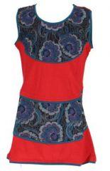 Robe rouge imprimée pour fille Néréa 268702