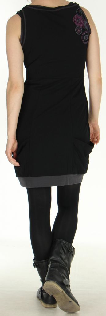 robe sans manches forme boule originale et ethnique bolza. Black Bedroom Furniture Sets. Home Design Ideas