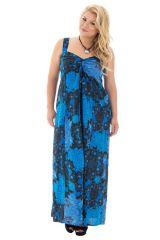 robe sensuelle longue grande taille avec imprimés fantaisies Samuelle 313481