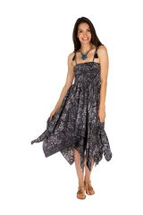 Robe transformable en jupe élégante look boho chic Marie 306150