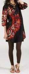 Robe/Tunique - manches 3/4 - ethnique et originale - Vanna 271936