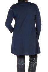 Robe tunique à panneaux avec imprimés fantaisies Olivette 302035