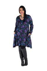 Robe tunique à poches fleurie Kosmik 301920