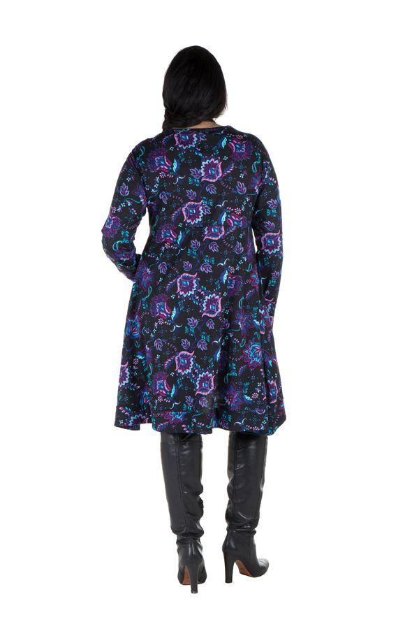 Robe tunique à poches fleurie Kosmik 301922