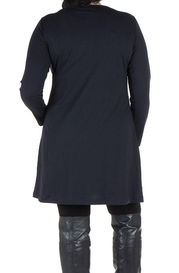 Robe tunique grande taille à imprimé floral Mariotte 301973