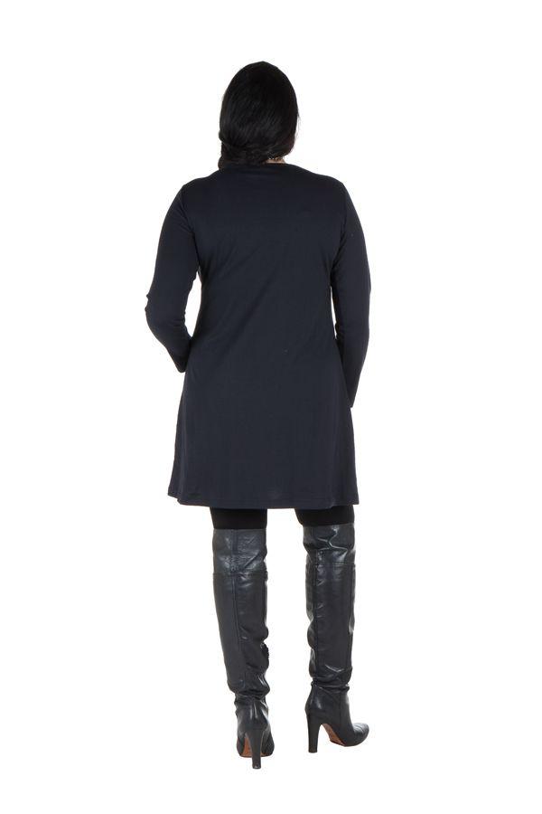 Robe tunique grande taille à imprimé floral Mariotte 301974