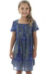 Robe tunique pour enfant avec imprimés hindous Zana 294819