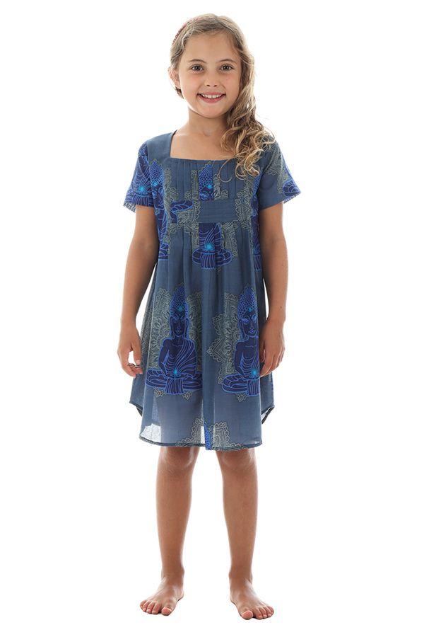 Robe tunique pour enfant avec imprimés hindous Zana 294820