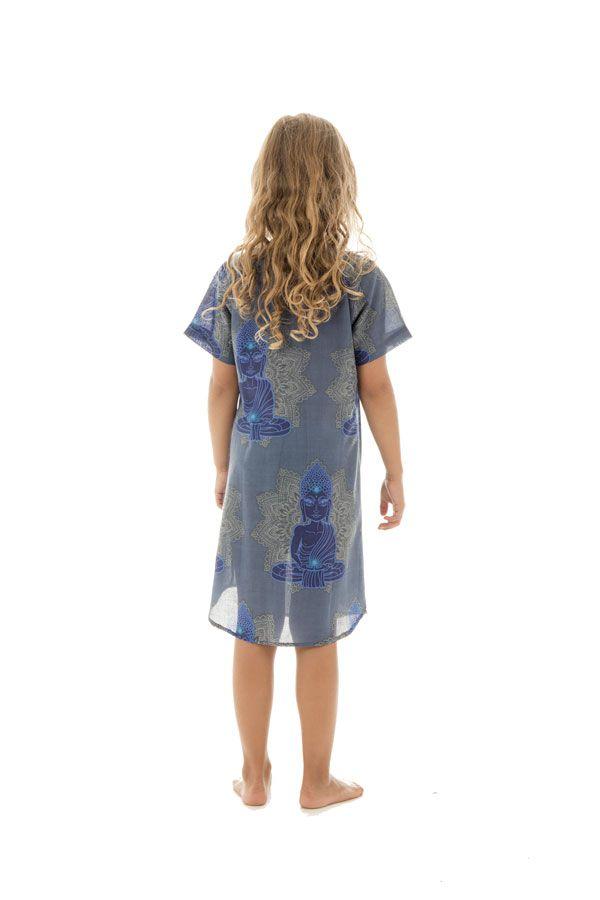 Robe tunique pour enfant avec imprimés hindous Zana 294821