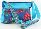 Sac à mains avec bandoulière Macha Original et Coloré Kalaya Bleu 277205