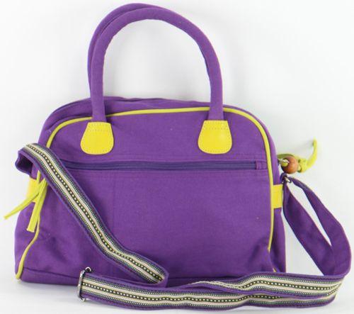 Sac à mains Macha avec bandoulière Original Lambra Violet 277266