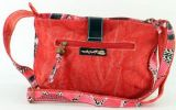 Sac femme Macha rouge coloré à bandoulière modèle Choupi