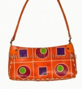 Sac géométric orange 240487