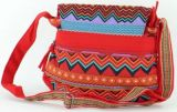Sac Macha coloré noir et rouge à bandoulière Bounty 271485