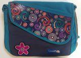 Sac Macha imprimé et coloré avec bandoulière turquoise Kelly 305342